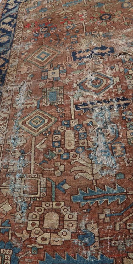 Antique Persian Heriz Rug - 9