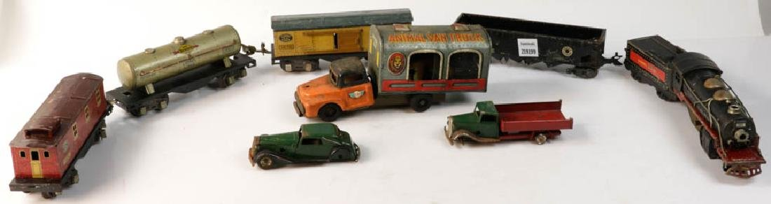 Lot of Assorted Lionel Tin Trains