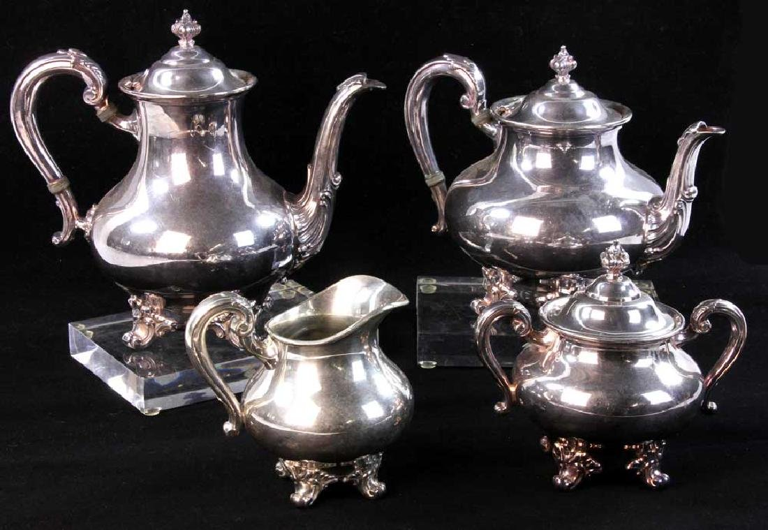 Reed and Barton Silverplate Tea Service