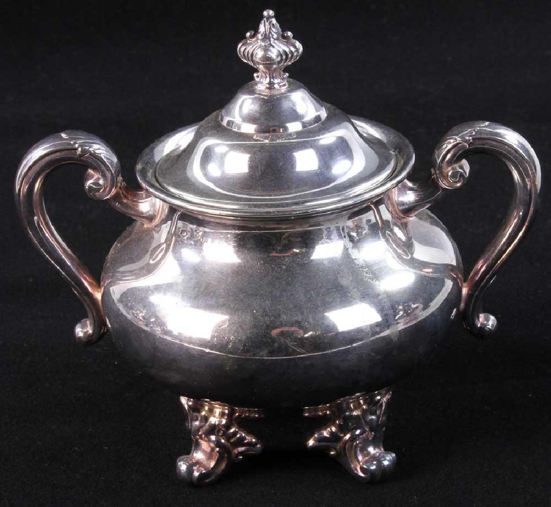 Reed and Barton Silverplate Tea Service - 5
