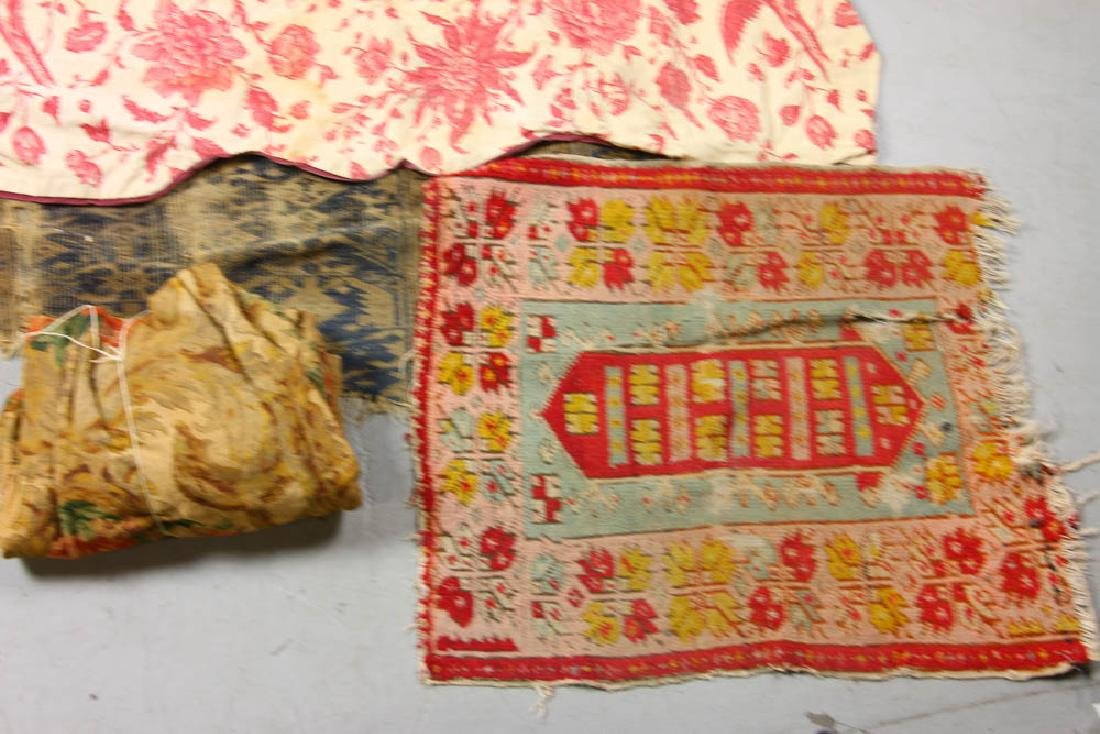 Group of Assorted Textiles, Rugs - 3