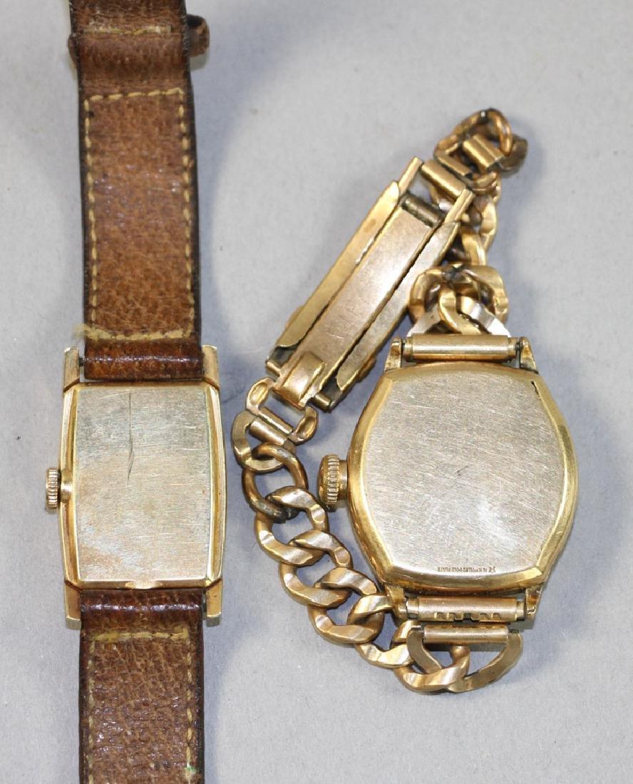 Two Mens Watches, Waltham, Hamilton - 3