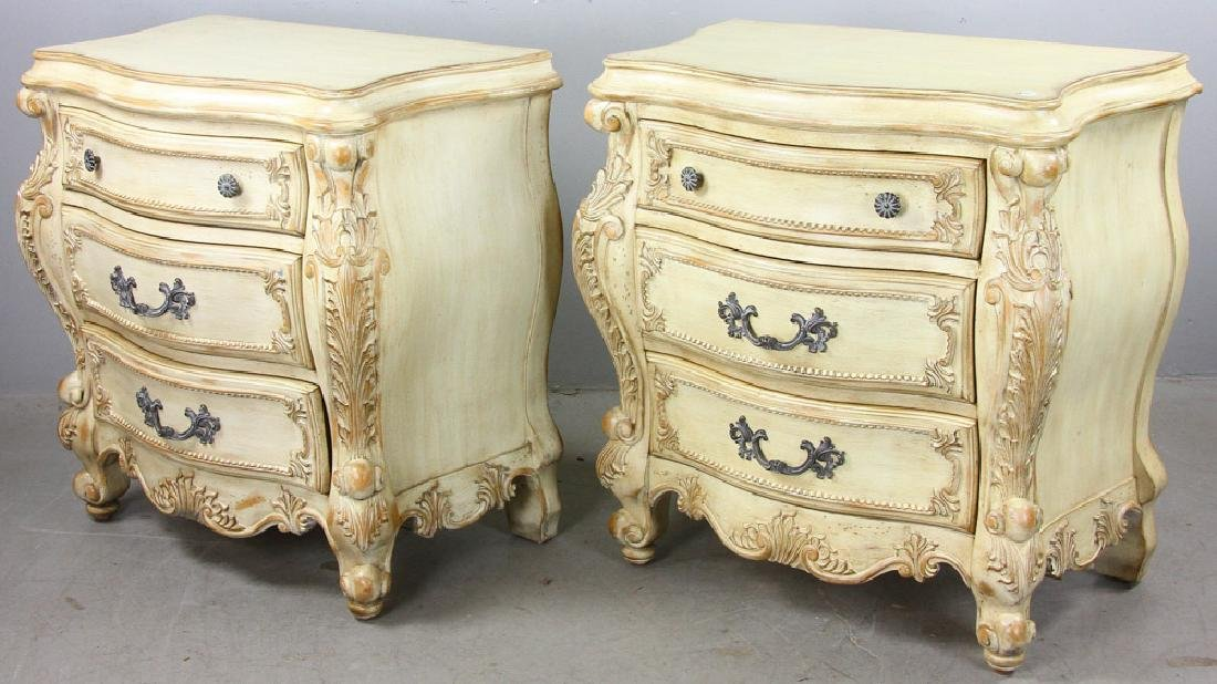 Pair of French Style Bombay Chests