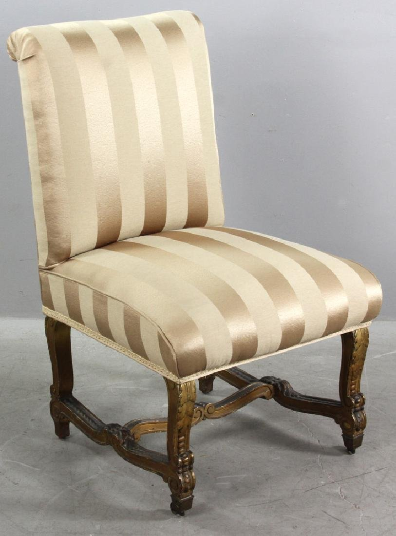 18th/19thC French Empire Style Slipper Chair