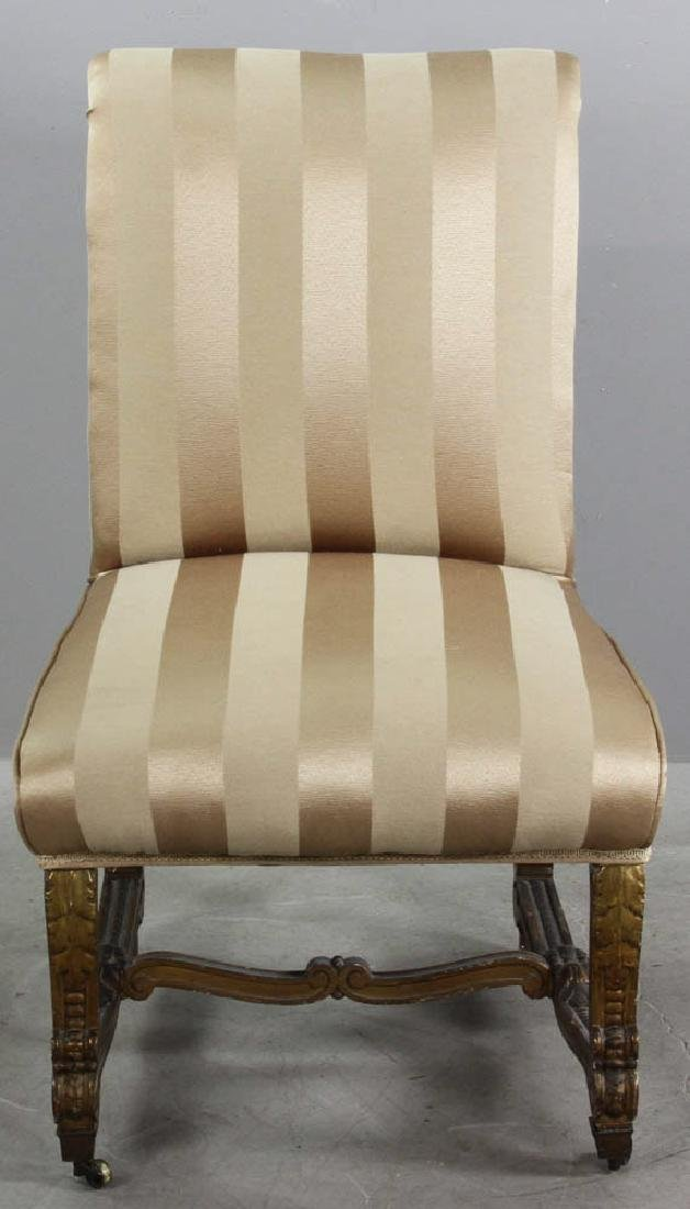18th/19thC French Empire Style Slipper Chair - 2