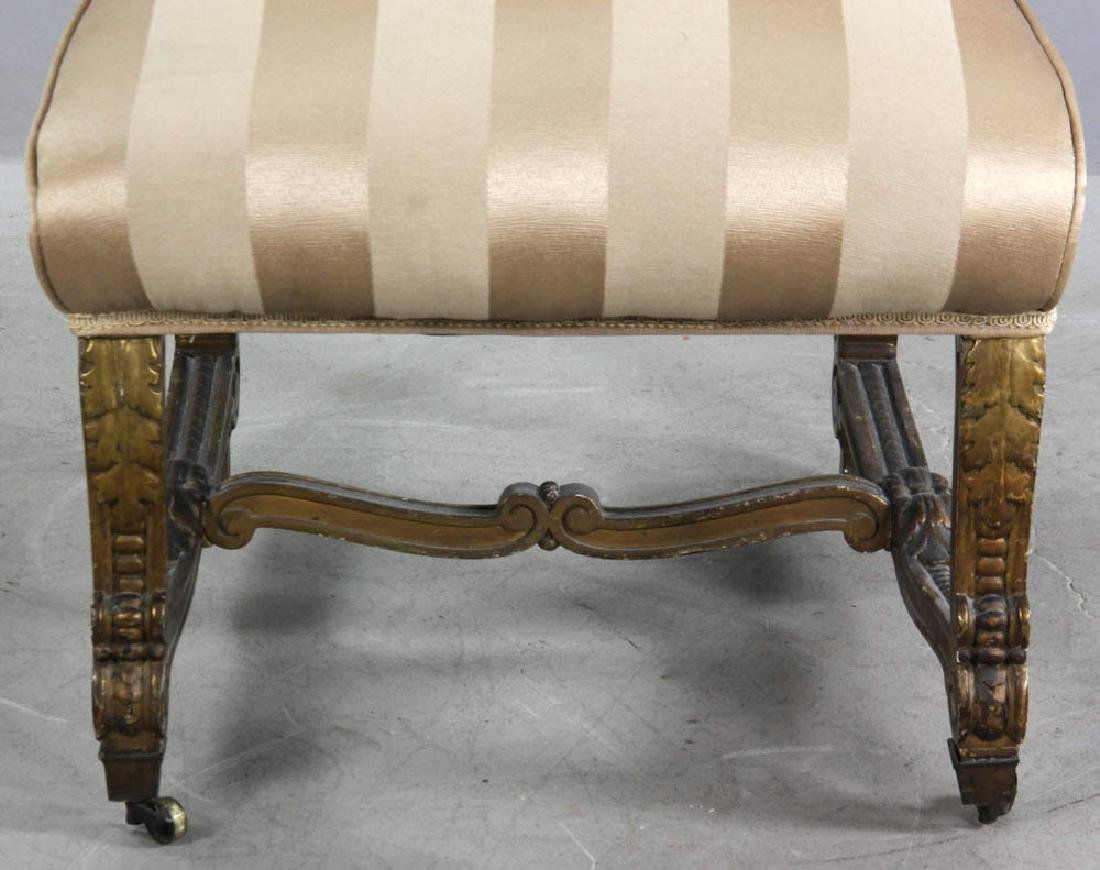 18th/19thC French Empire Style Slipper Chair - 3