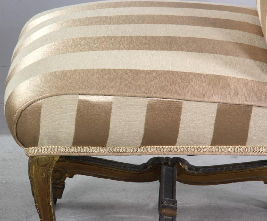 18th/19thC French Empire Style Slipper Chair - 4