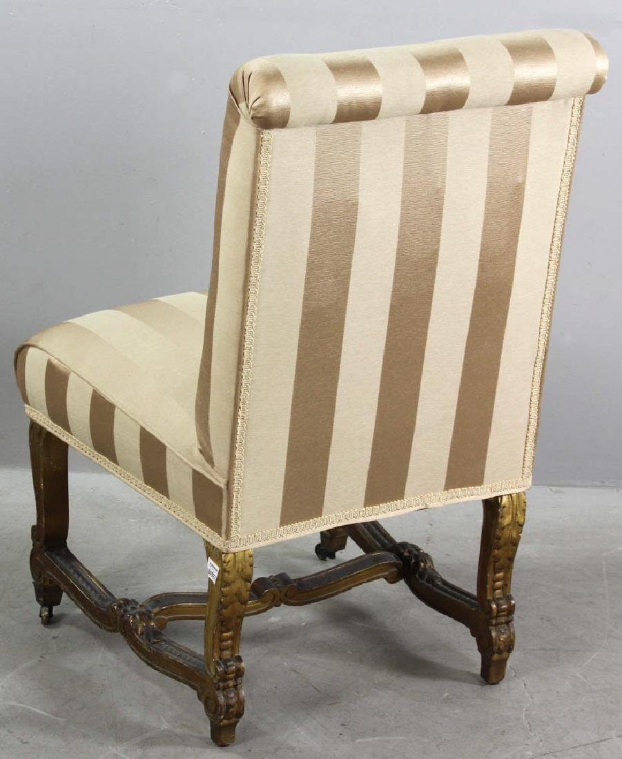 18th/19thC French Empire Style Slipper Chair - 5