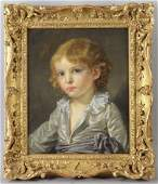 Attr to Jean-Baptiste Greuze, Portrait of Boy