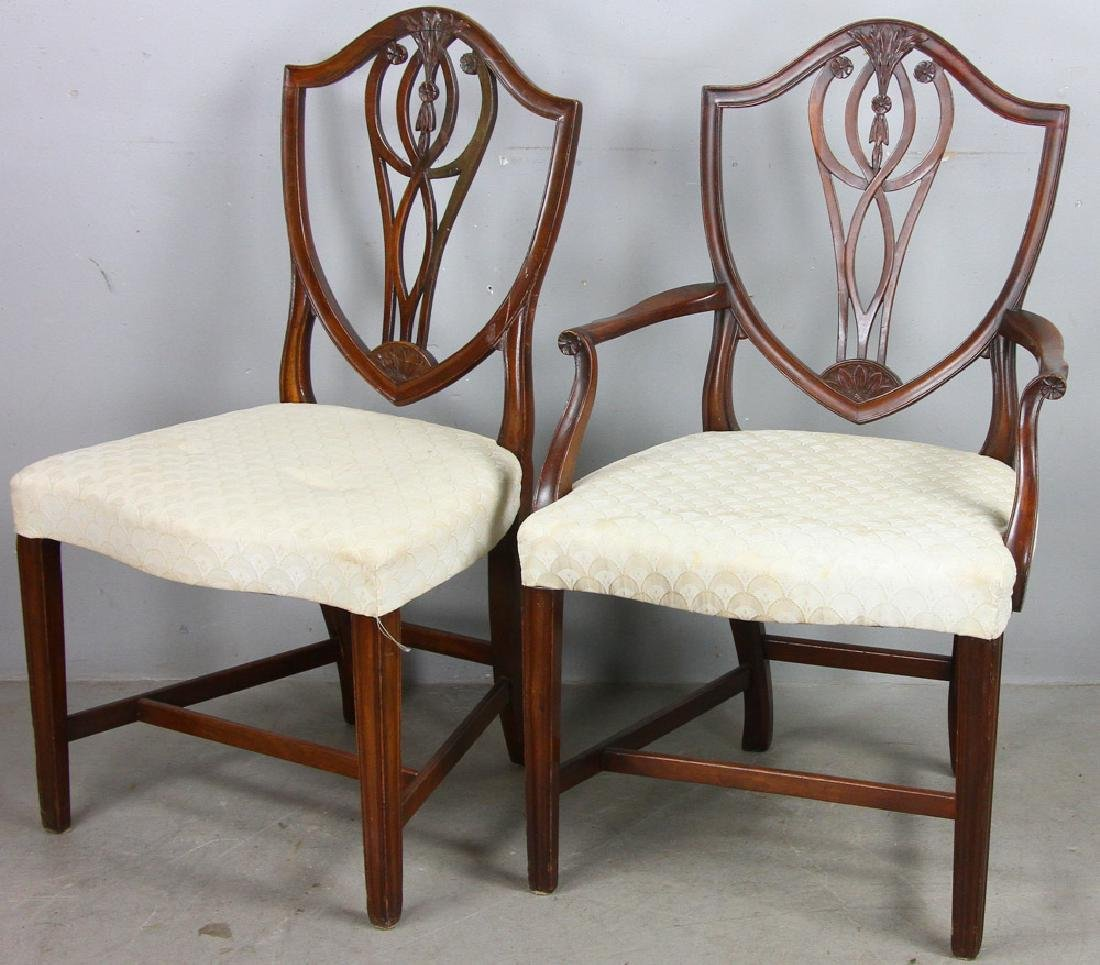 Set of (8) Federal Style Mahogany Chairs - 2