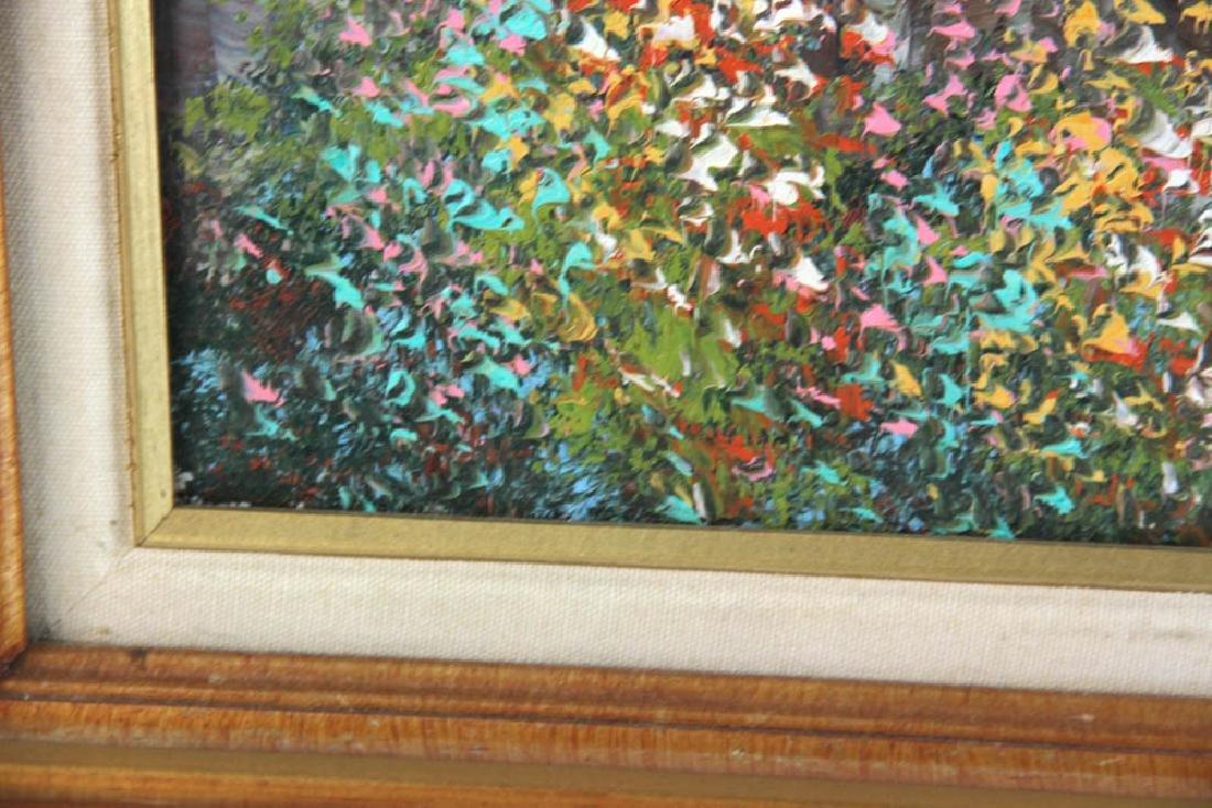 Cortazzo Mediterranean Scene Oil on Canvas - 4