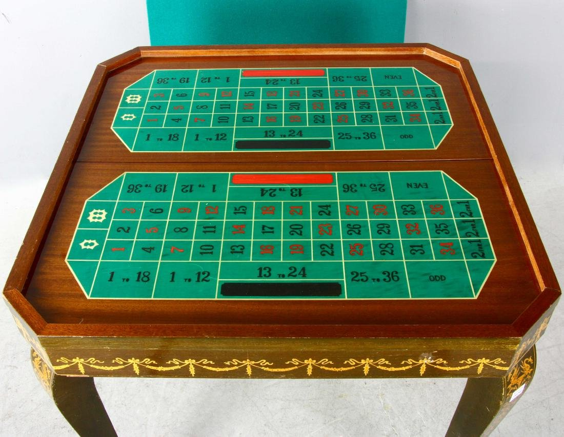 20thC French Style Games Table - 5