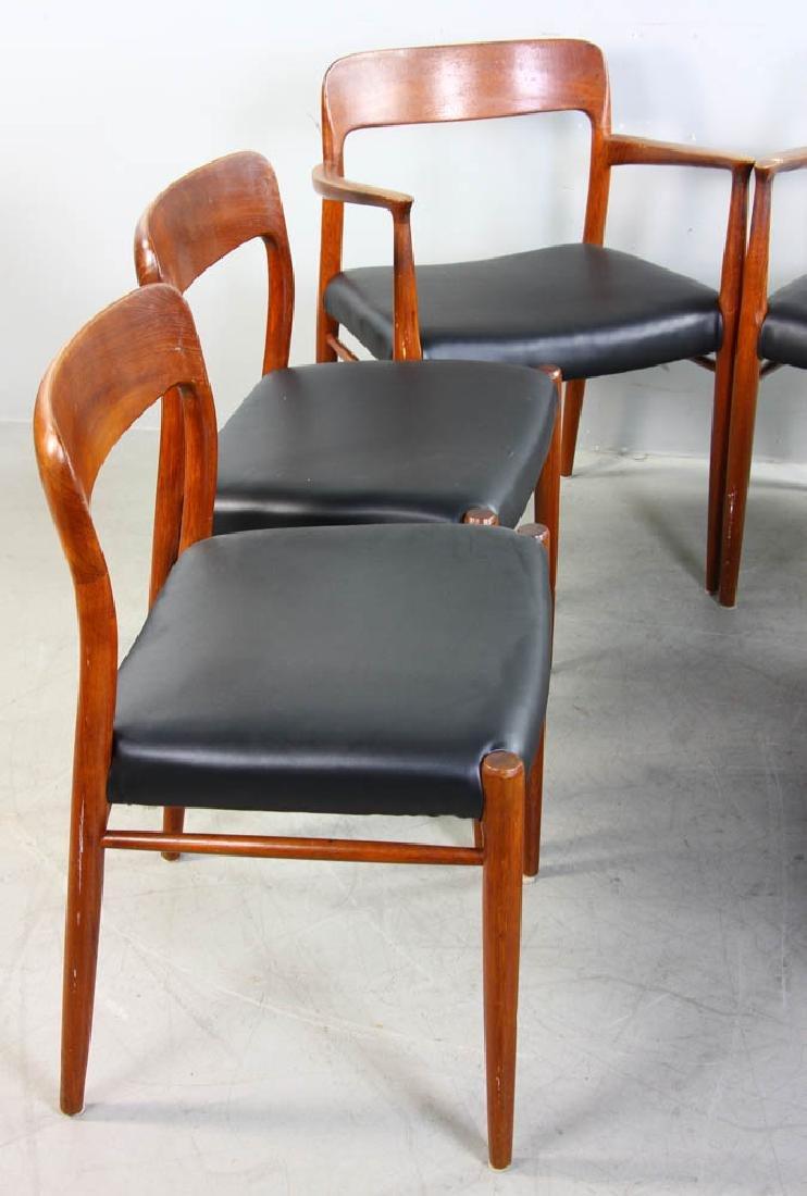 Set of Six Danish Modern Chairs - 2