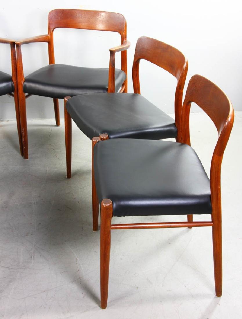 Set of Six Danish Modern Chairs - 3