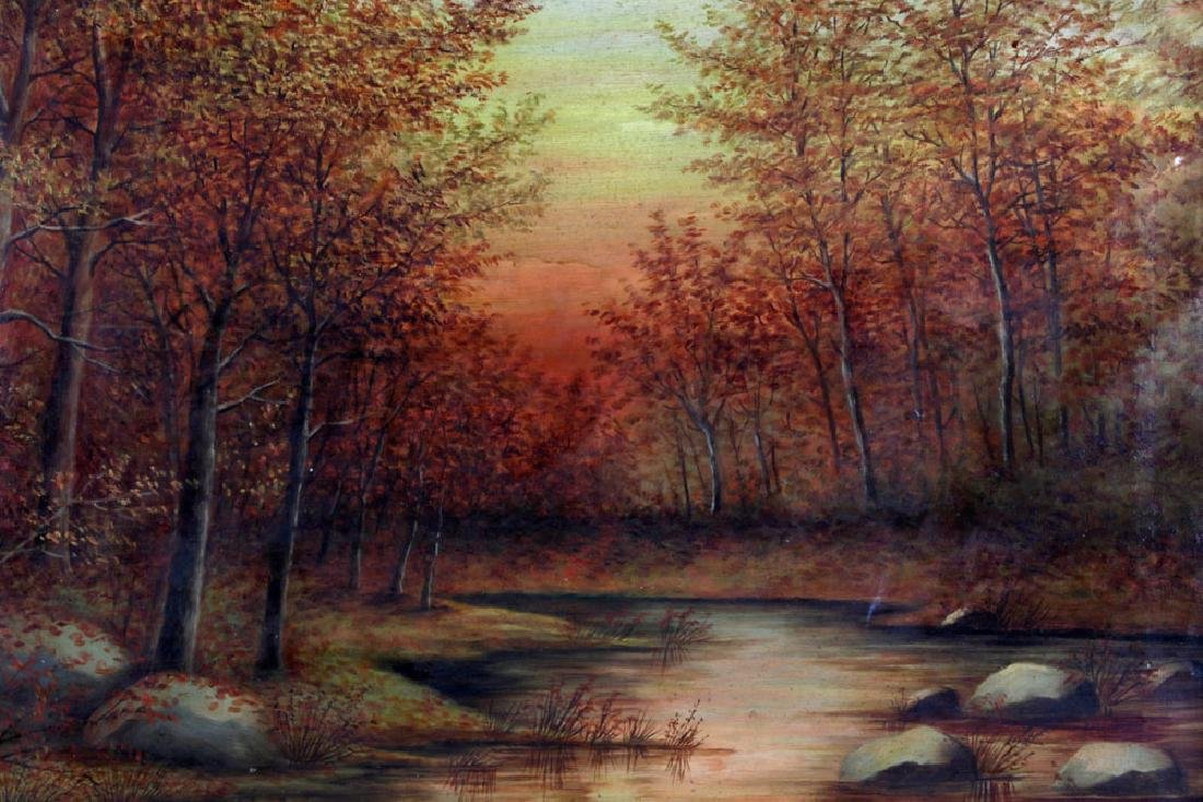 Meniomarch, Autumn Landscape, Oil on Canvas - 3