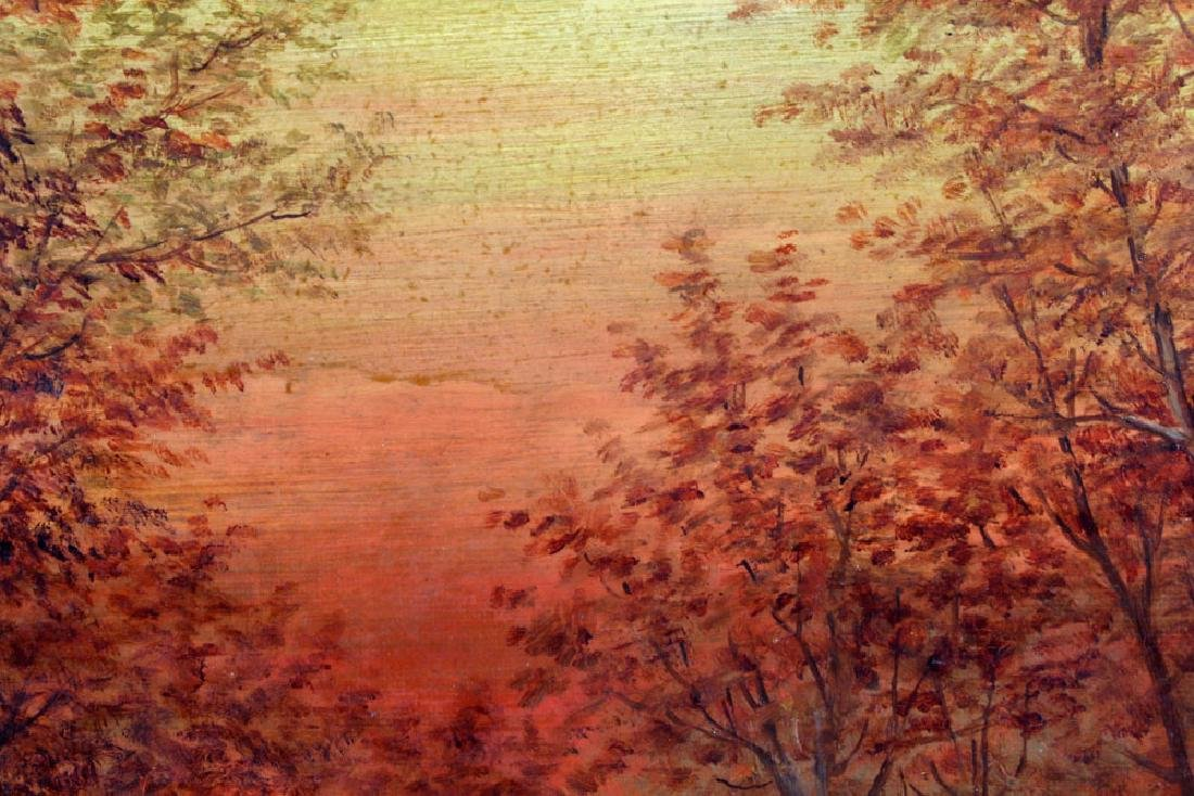 Meniomarch, Autumn Landscape, Oil on Canvas - 5