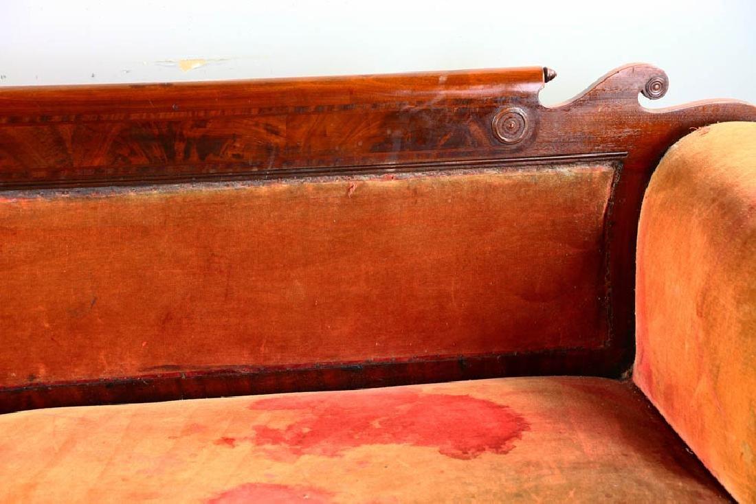 Antique Classical Empire Mahogany Sofa - 5