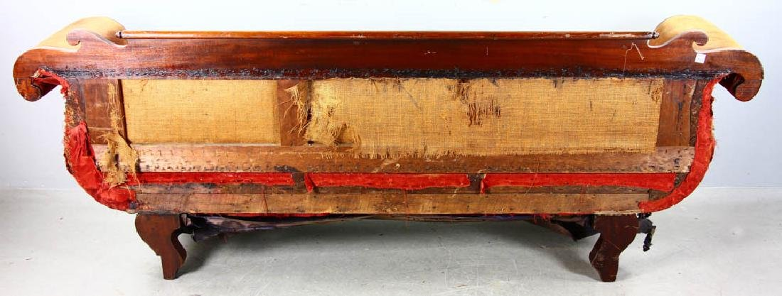 Antique Classical Empire Mahogany Sofa - 6