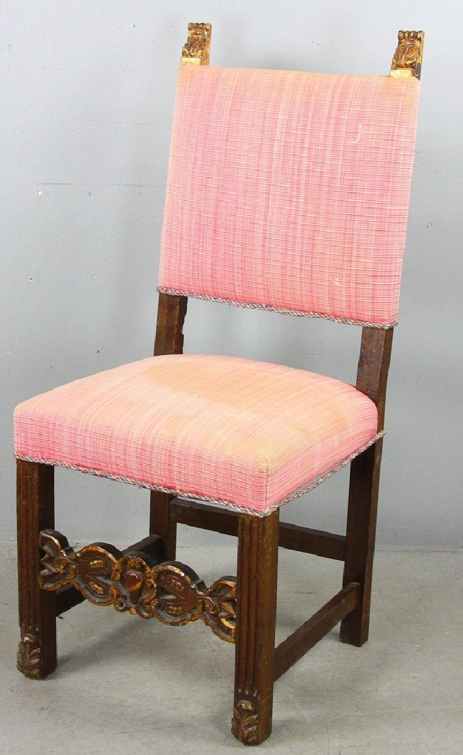 Spanish Style Upholstered Chair
