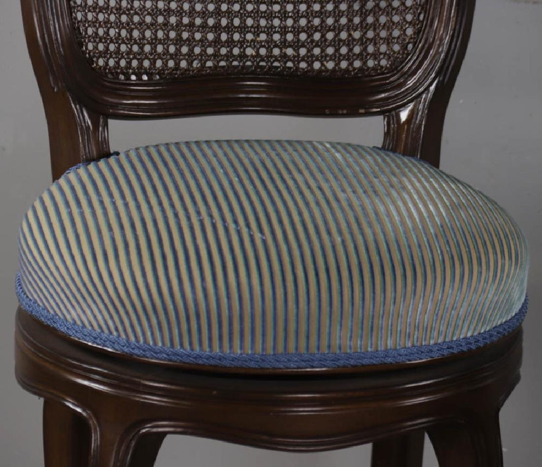 Pair of Upholstered Stools - 3