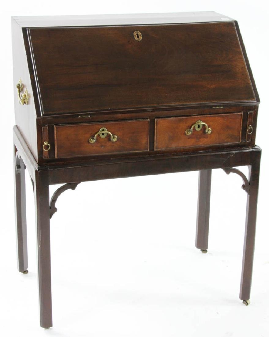 George III Period Slant Top Desk