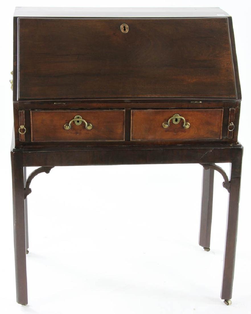 George III Period Slant Top Desk - 2