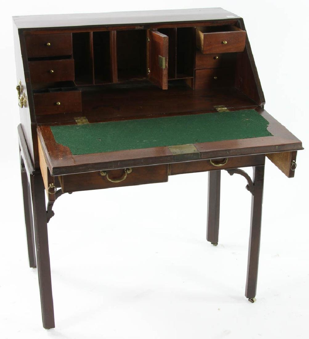 George III Period Slant Top Desk - 3