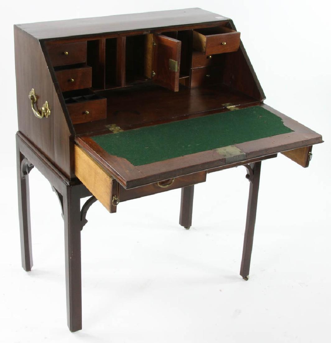 George III Period Slant Top Desk - 4
