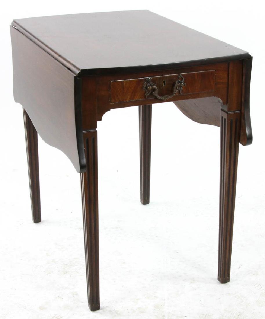 George III Style Mahogany Pembroke Table