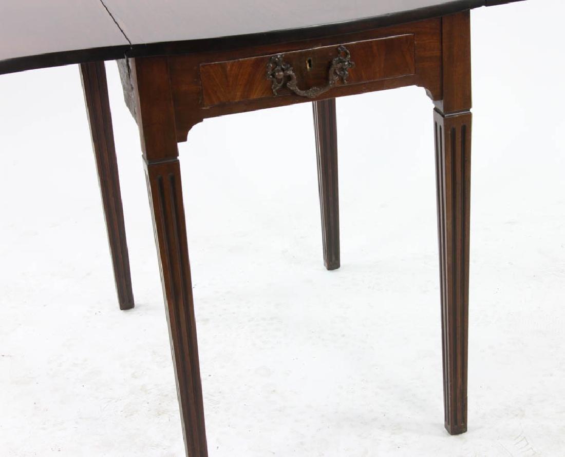 George III Style Mahogany Pembroke Table - 3