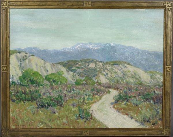 14A: Everett Warner, O/CB, California Landscape