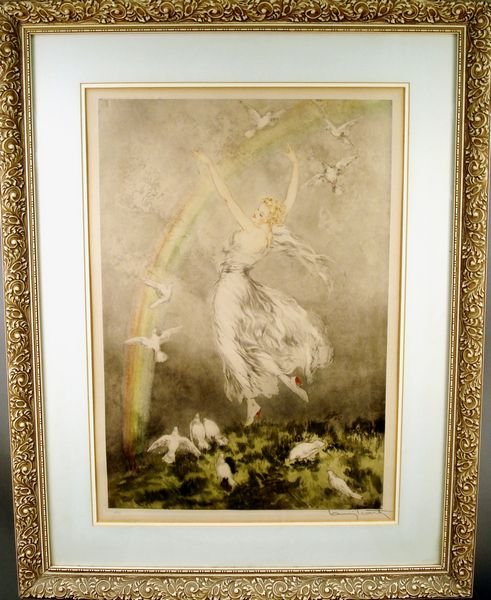 19: Louis Icart Print, Sgnd. no. A/85, Dated 1930