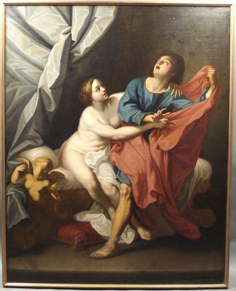20: 17th C. Italian, O/C, by Francesco Albanie