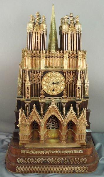 95: Rare 19th C. French Ormolu Bronze Clock