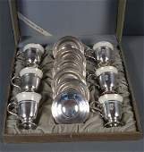 354 Complete Lenox Sterling Demitasse Set