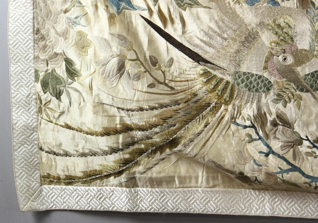 Large Chinese Embroidery Panel - 3