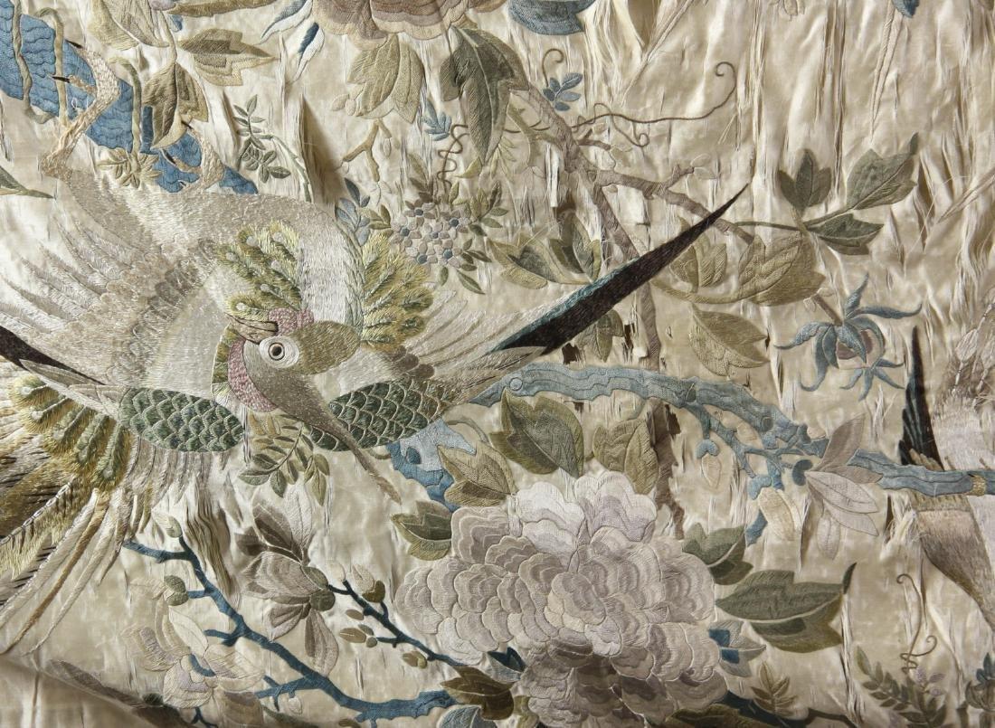 Large Chinese Embroidery Panel - 4