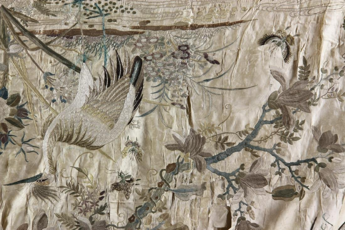 Large Chinese Embroidery Panel - 6