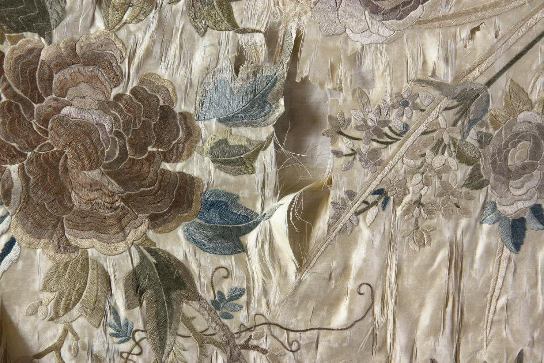 Large Chinese Embroidery Panel - 8