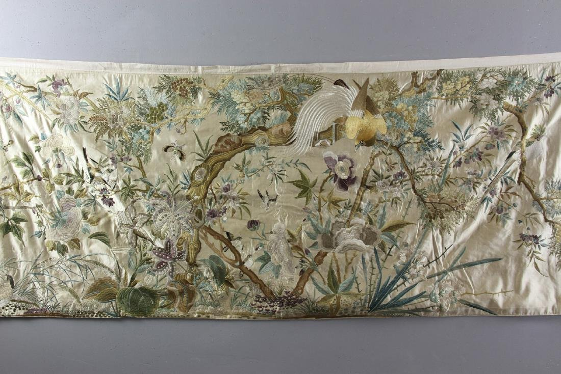 Chinese Embroidery Panel - 2