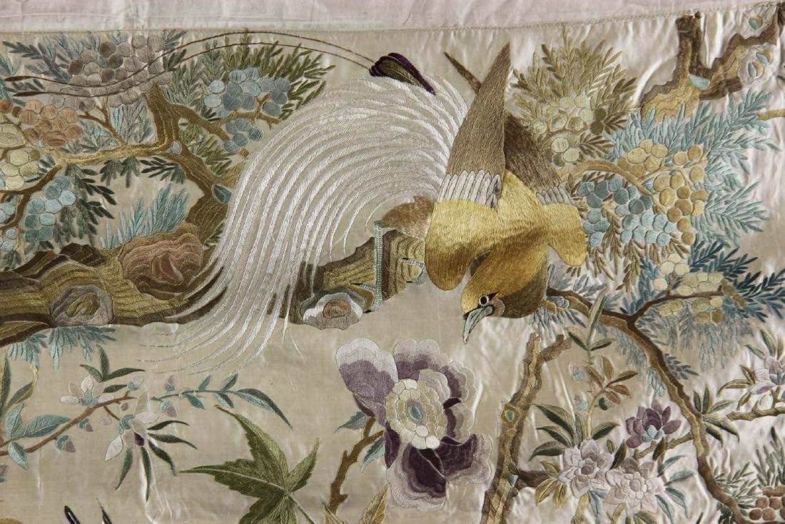 Chinese Embroidery Panel - 3
