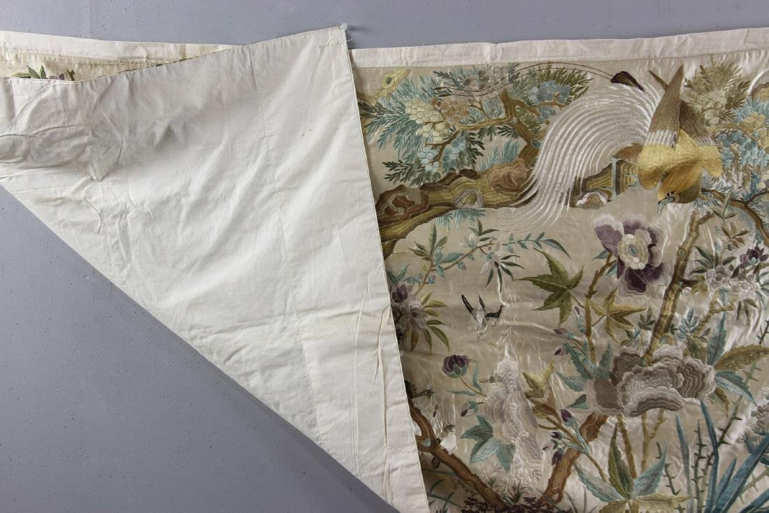 Chinese Embroidery Panel - 6