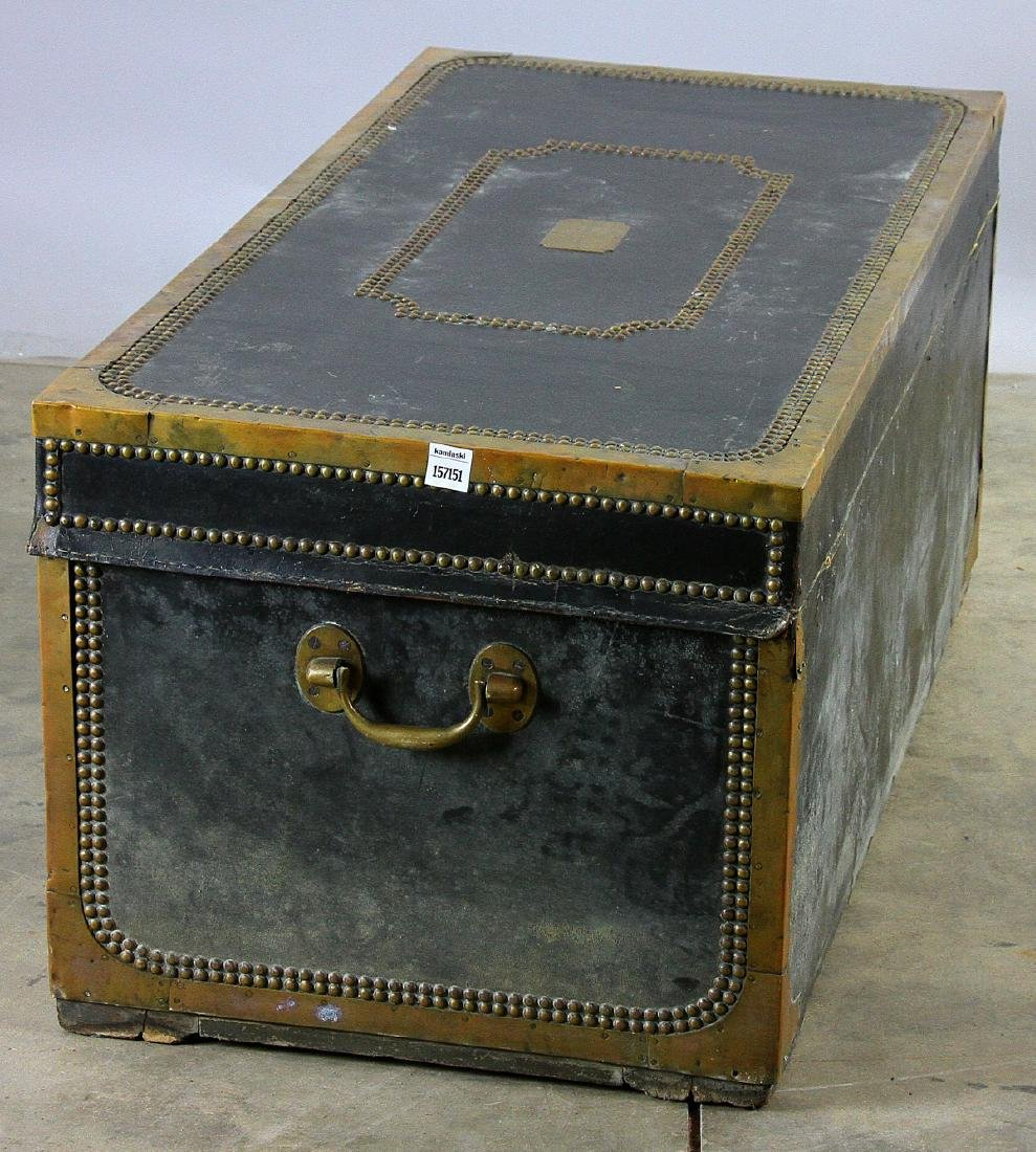 Early 19th C Chinese Camphor Wood Trunk - 2