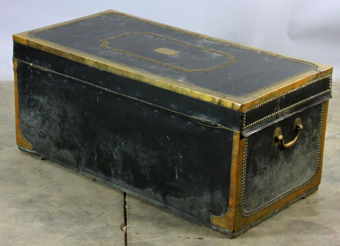 Early 19th C Chinese Camphor Wood Trunk - 4