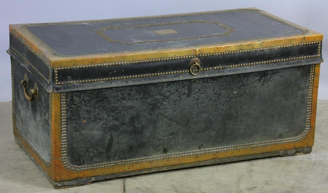Early 19th C Chinese Camphor Wood Trunk - 5