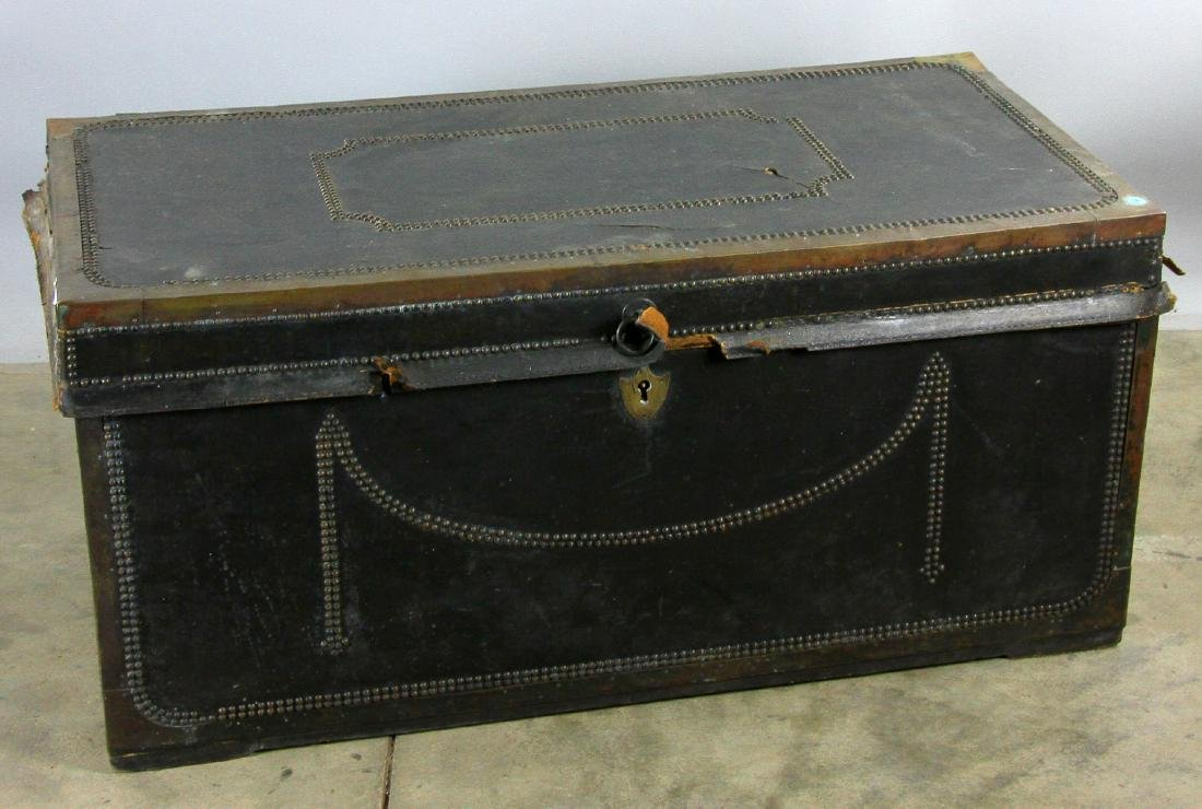 Early 19th C Chinese Camphor Wood Trunk