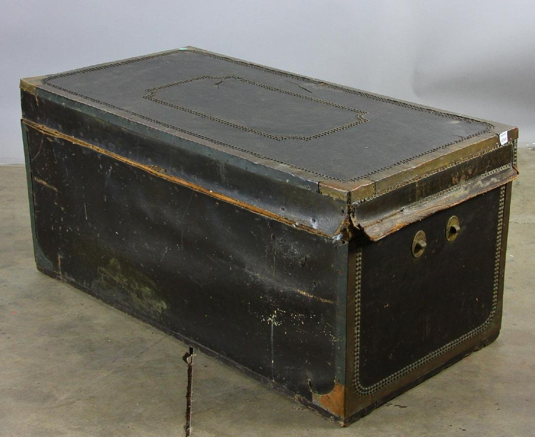 Early 19th C Chinese Camphor Wood Trunk - 6