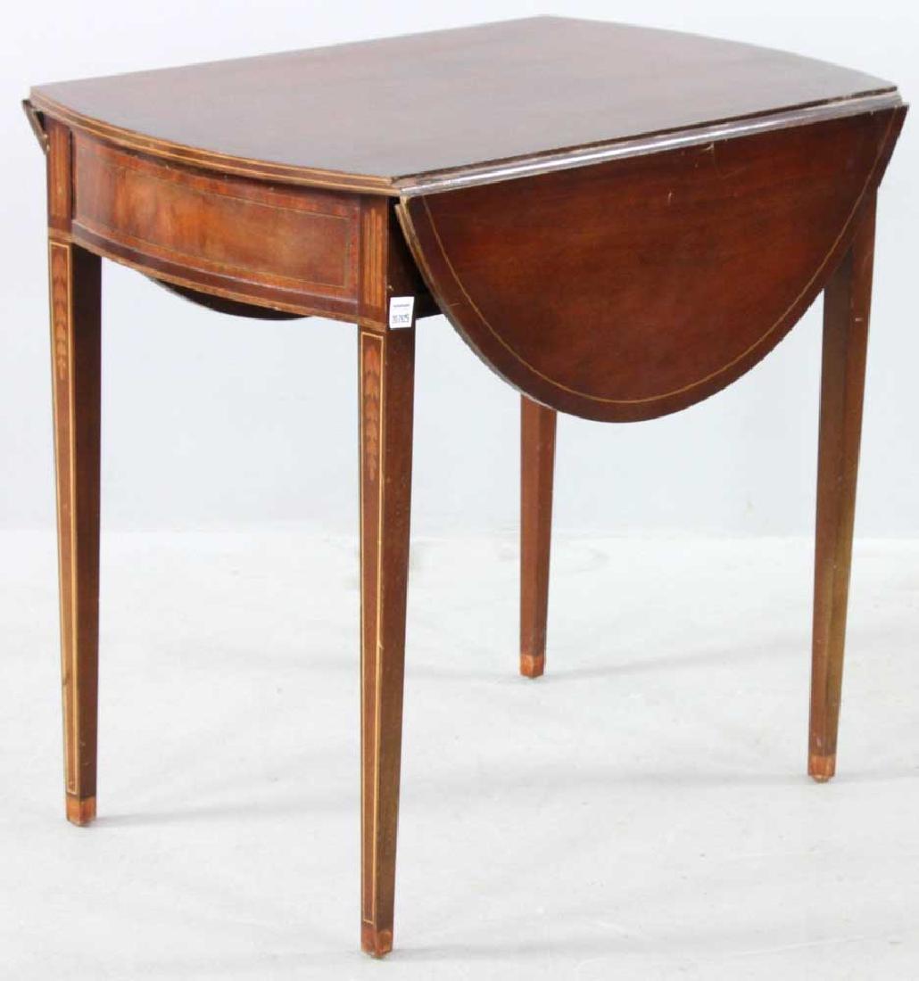 Hepplewhite-style Mahogany Pembroke Table - 2