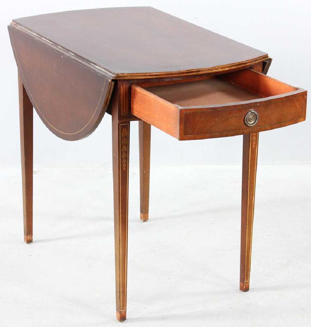 Hepplewhite-style Mahogany Pembroke Table - 5