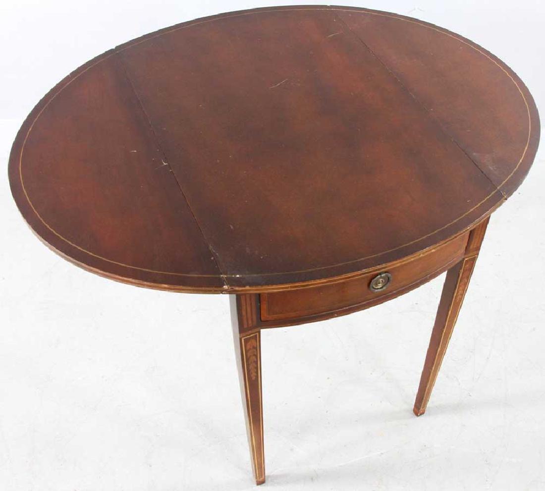 Hepplewhite-style Mahogany Pembroke Table - 7